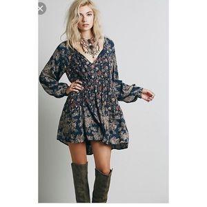 Free People Lucky Loosey tunic mini dress